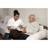 contratar profissional para cuidar de idoso a domicílio Vila Romana