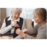 contratar profissional para cuidar de idoso com demência Imirim