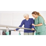 fisioterapia para idosos andar Santos